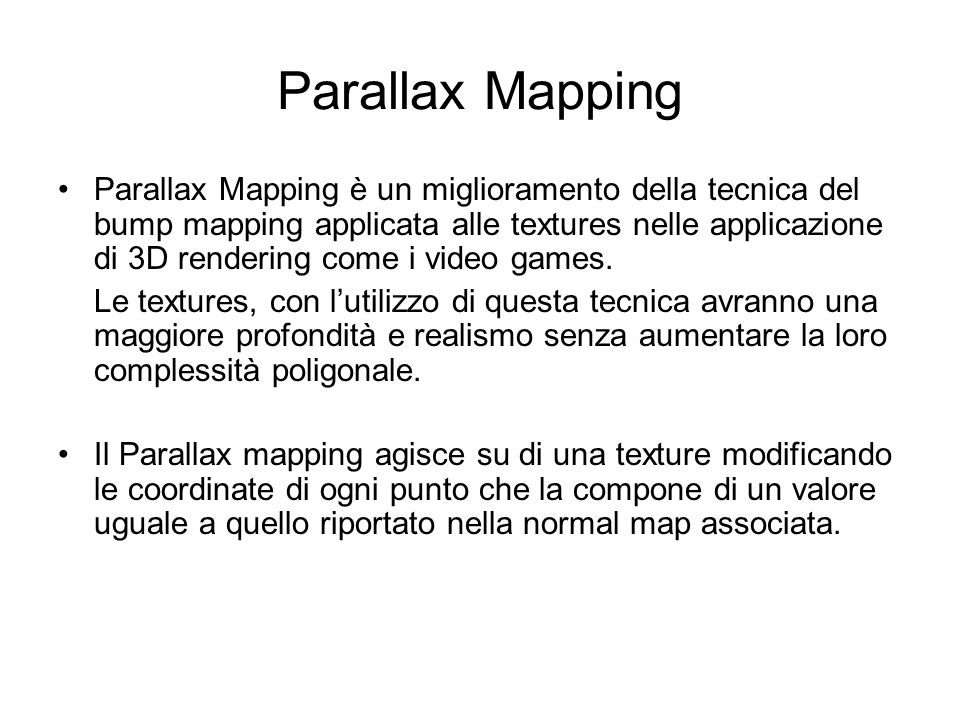 Parallax Mapping
