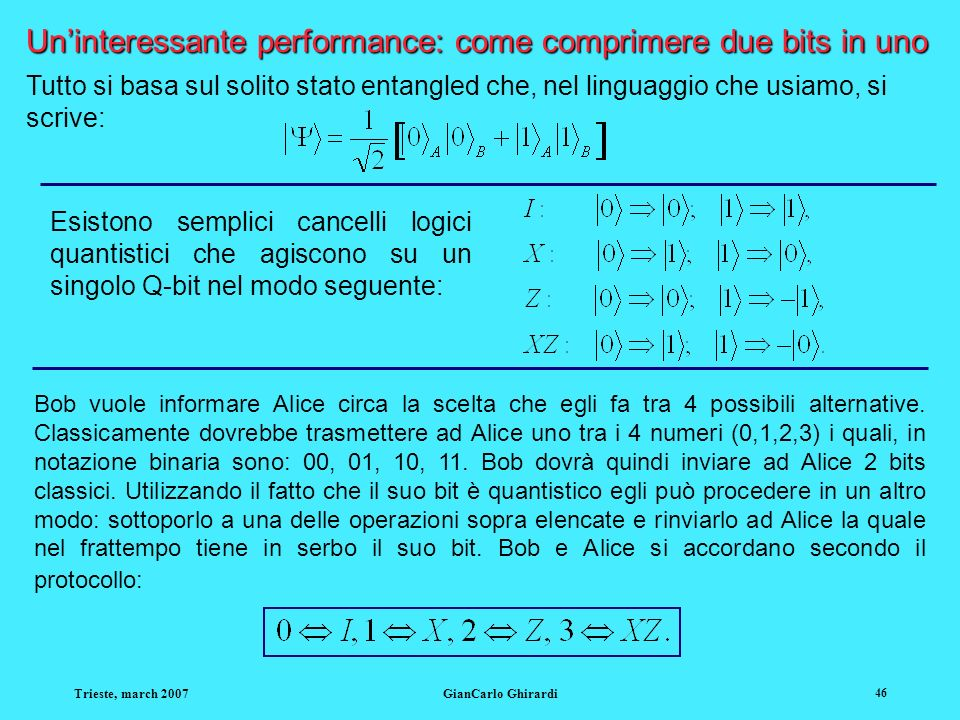 Un'interessante performance: come comprimere due bits in uno