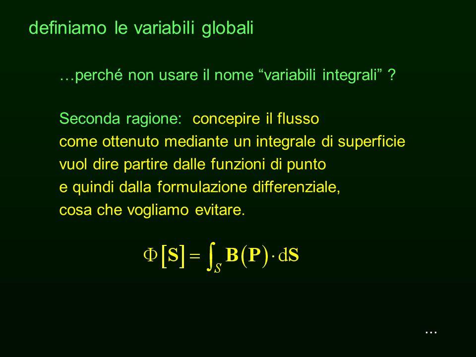 definiamo le variabili globali