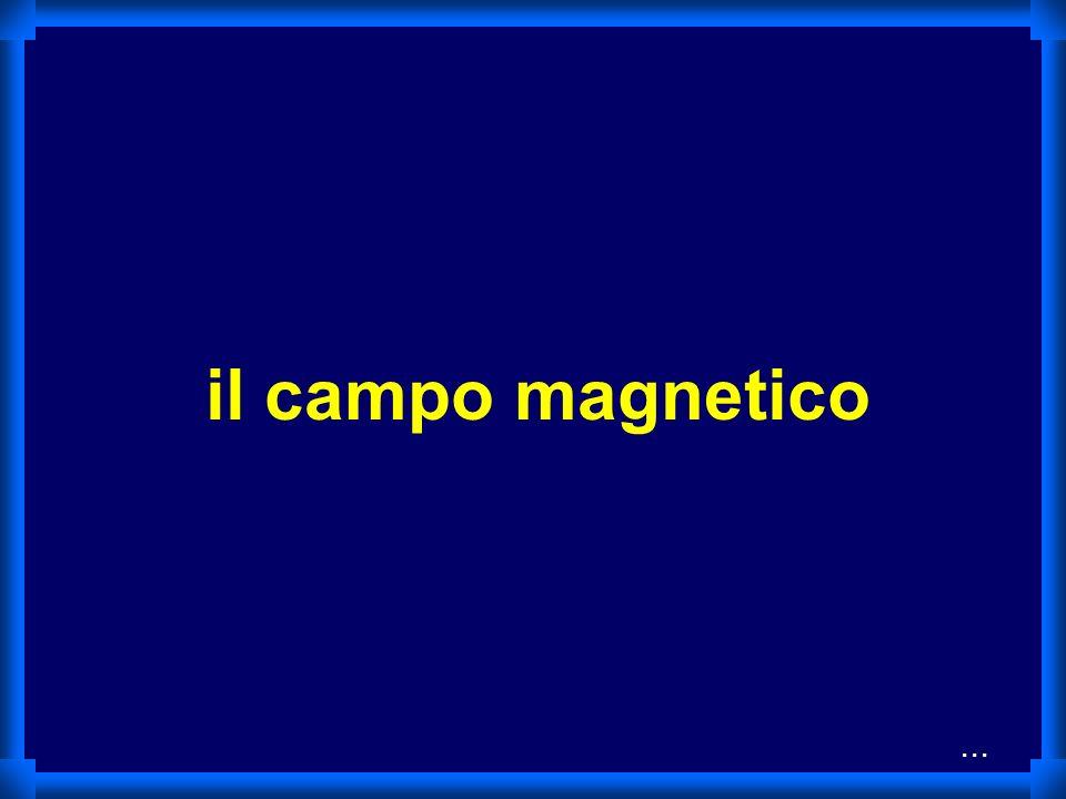 il campo magnetico ...