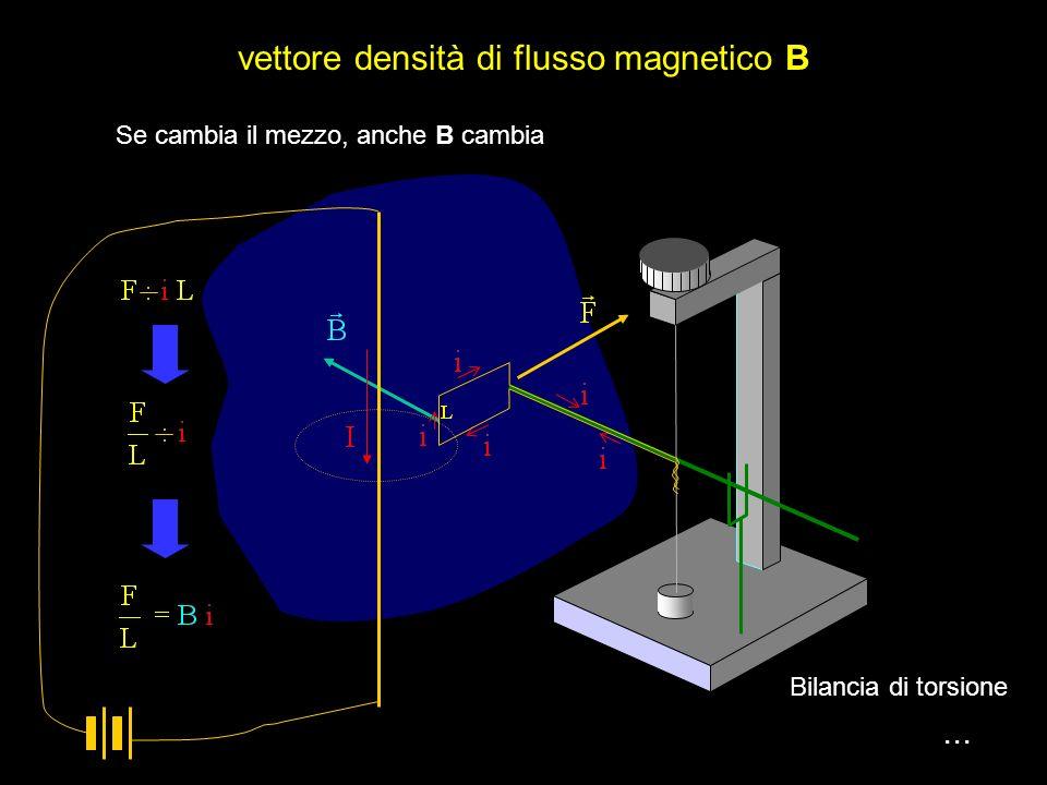 vettore densità di flusso magnetico B