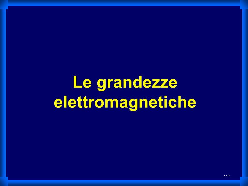 Le grandezze elettromagnetiche