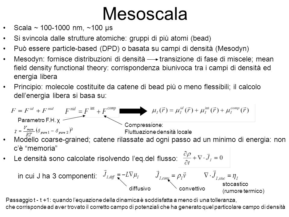 Mesoscala Scala ~ 100-1000 nm, ~100 μs