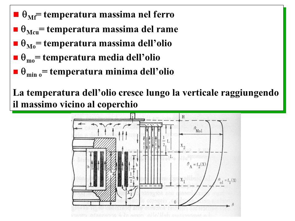 Mf= temperatura massima nel ferro