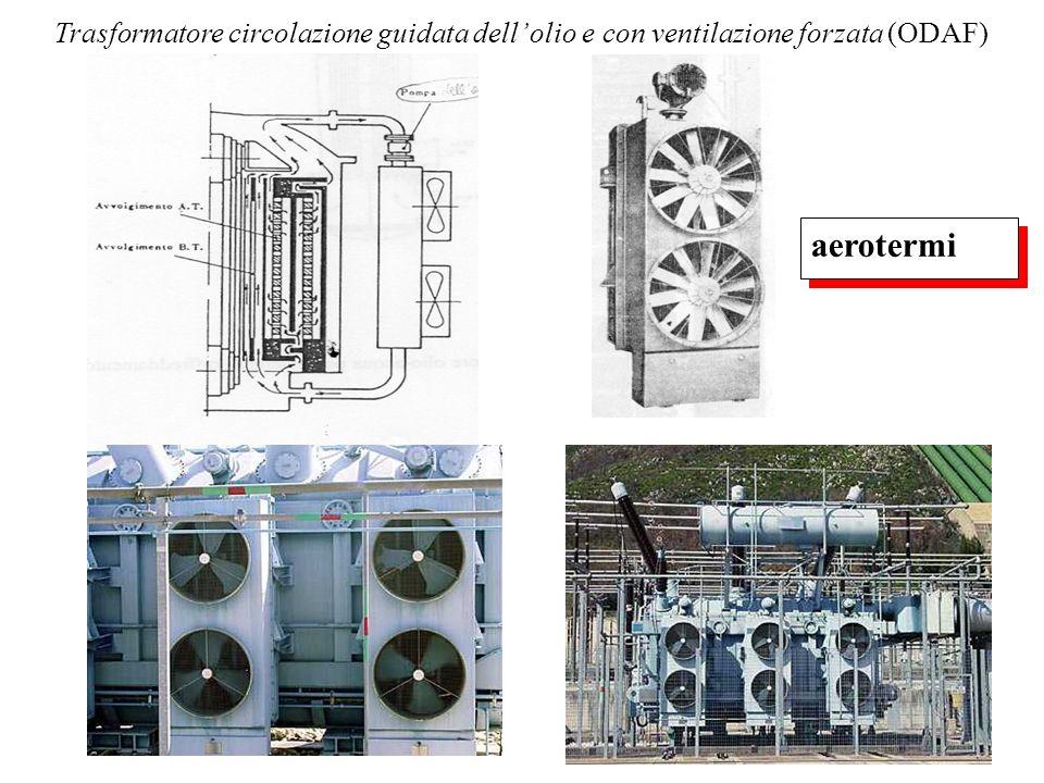 Trasformatore circolazione guidata dell' olio e con ventilazione forzata (ODAF)