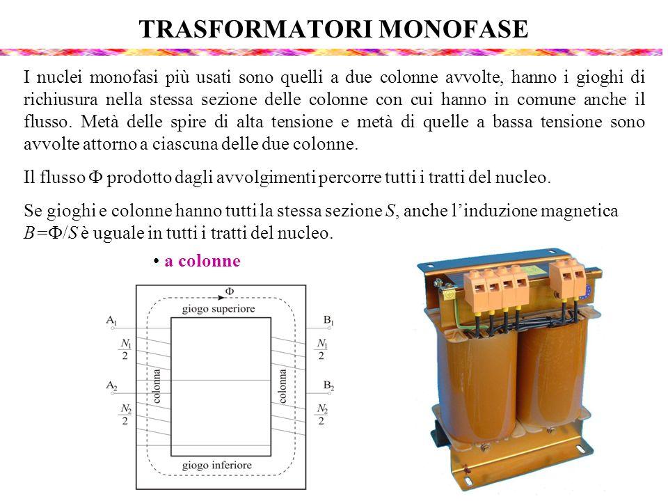 TRASFORMATORI MONOFASE