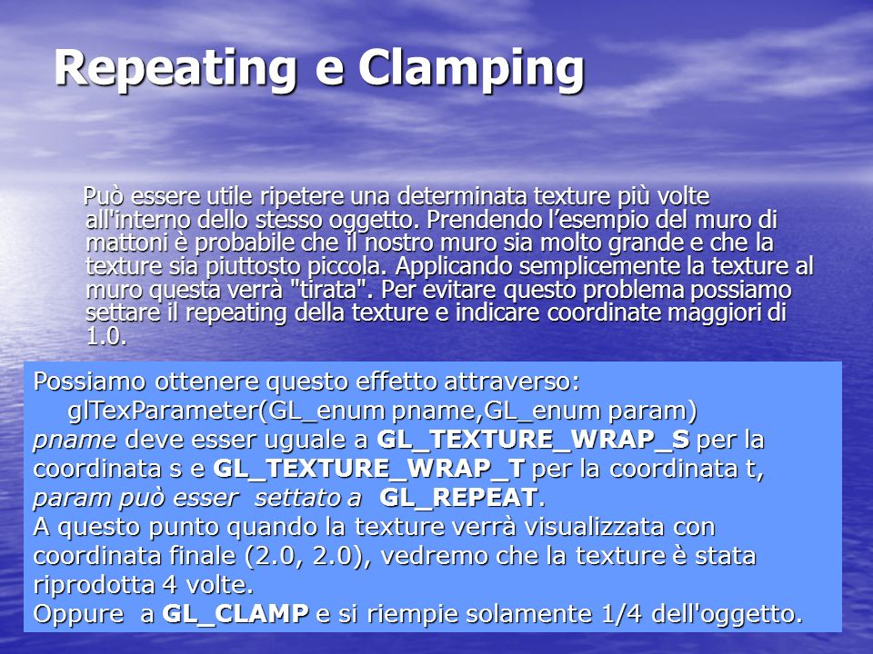 Repeating e Clamping