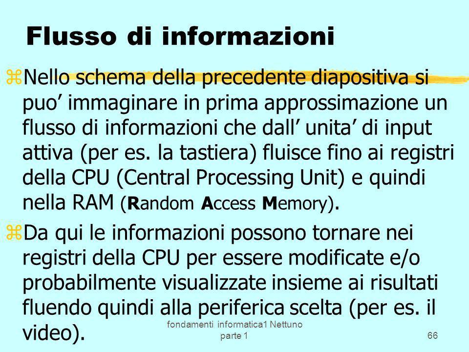 Flusso di informazioni