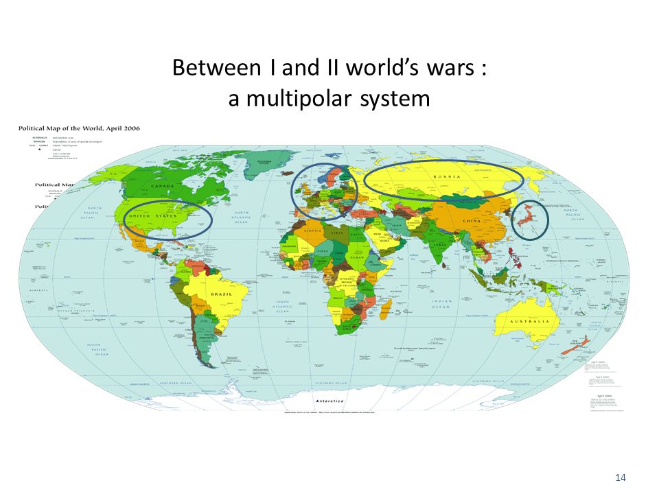 Between I and II world's wars : a multipolar system