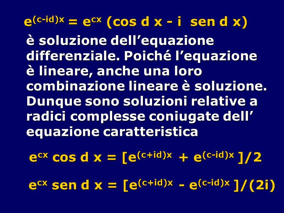 e(c-id)x = ecx (cos d x - i sen d x)