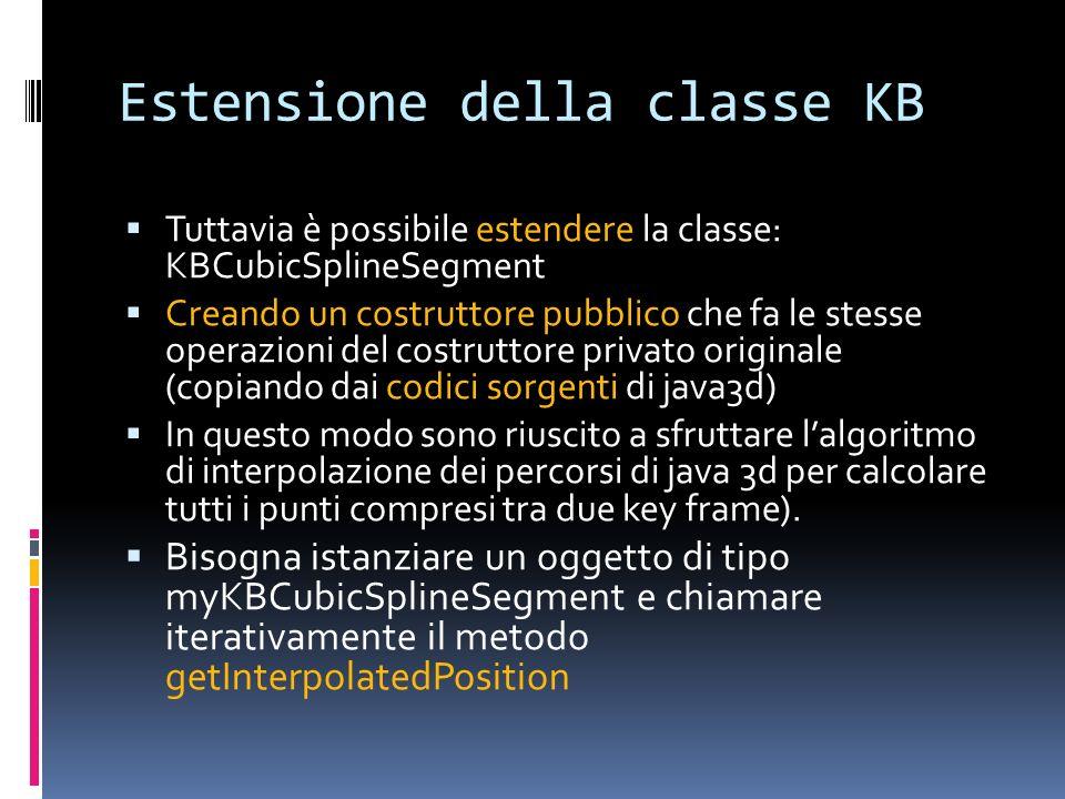Estensione della classe KB