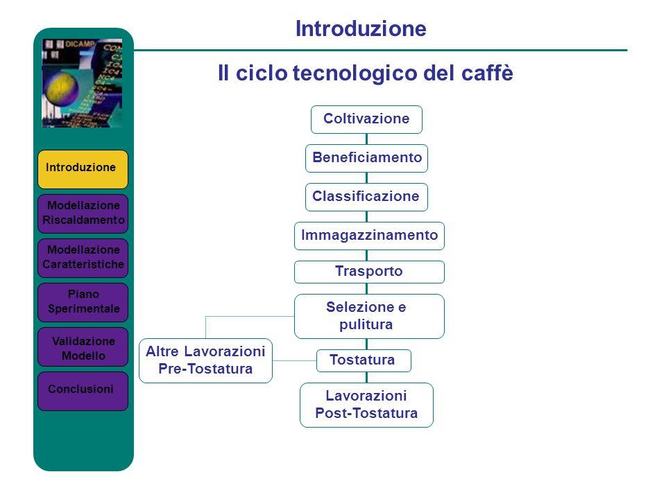 Il ciclo tecnologico del caffè