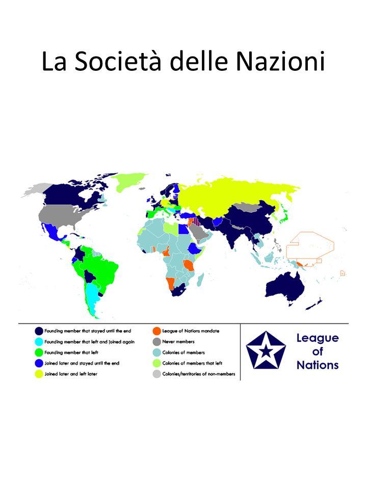 La Società delle Nazioni
