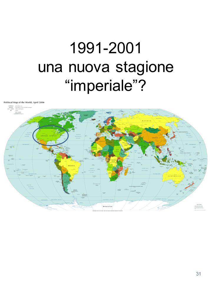 1991-2001 una nuova stagione imperiale