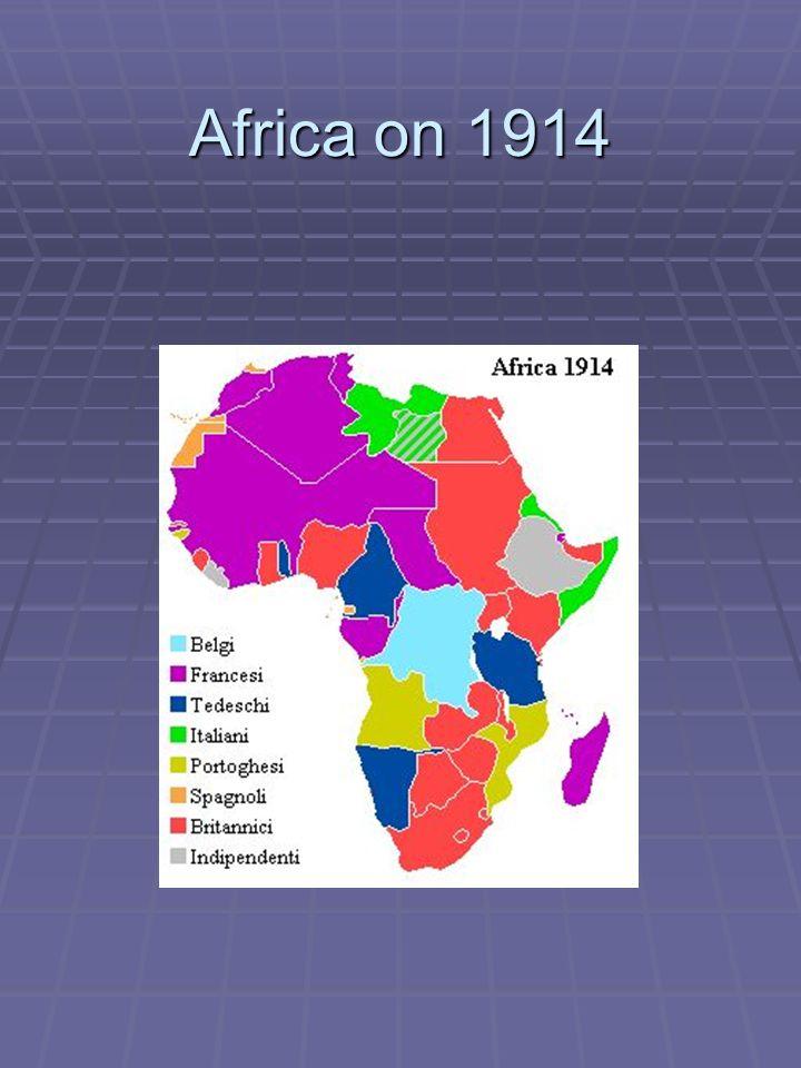Africa on 1914