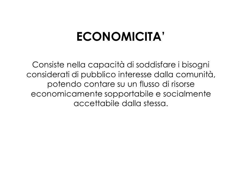 ECONOMICITA'