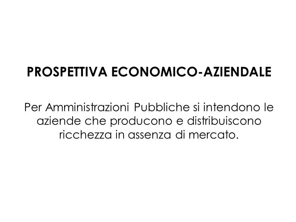 PROSPETTIVA ECONOMICO-AZIENDALE