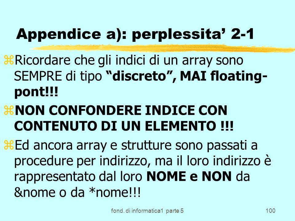 Appendice a): perplessita' 2-1