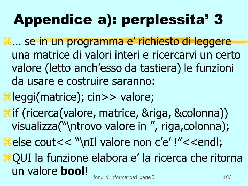 Appendice a): perplessita' 3