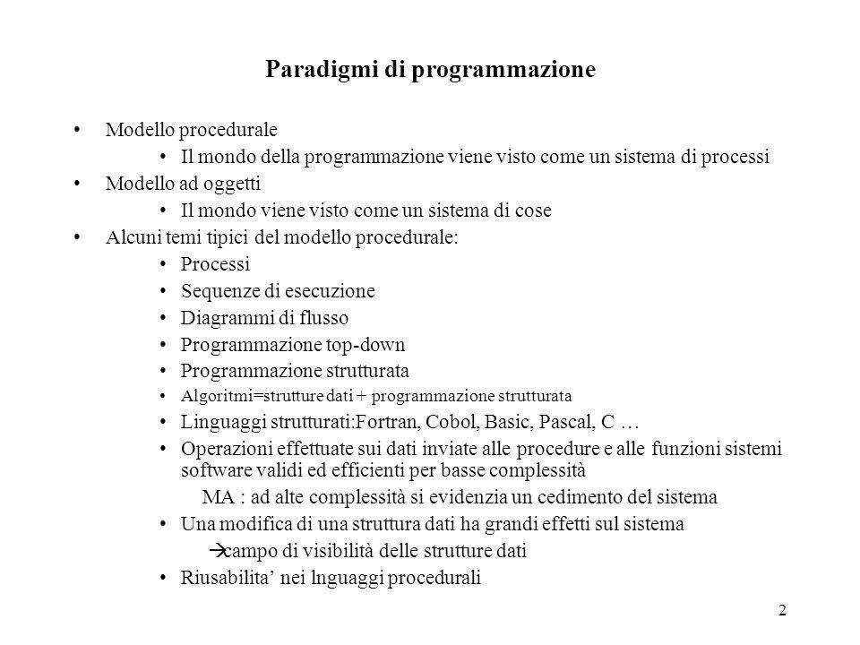 Paradigmi di programmazione