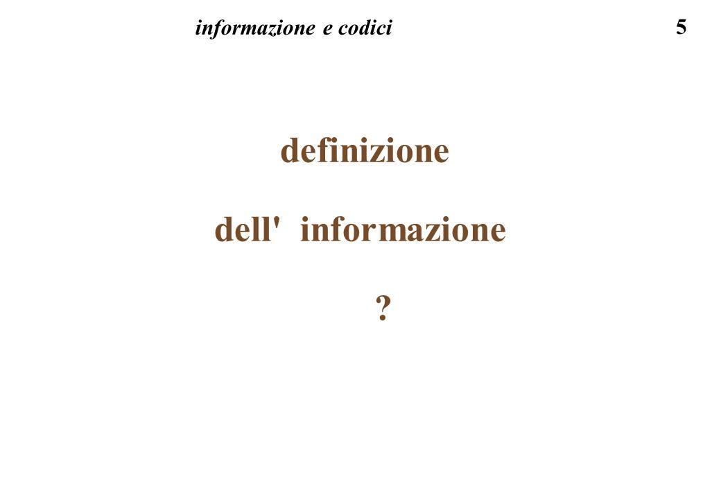 definizione dell informazione