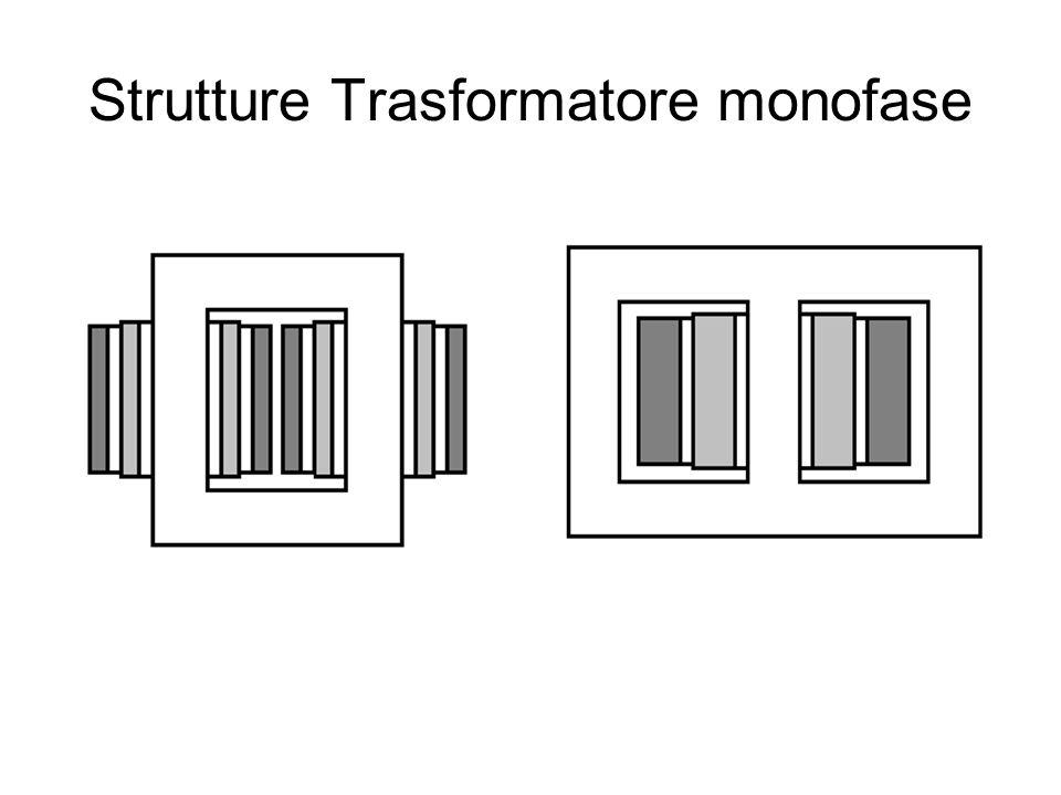 Strutture Trasformatore monofase
