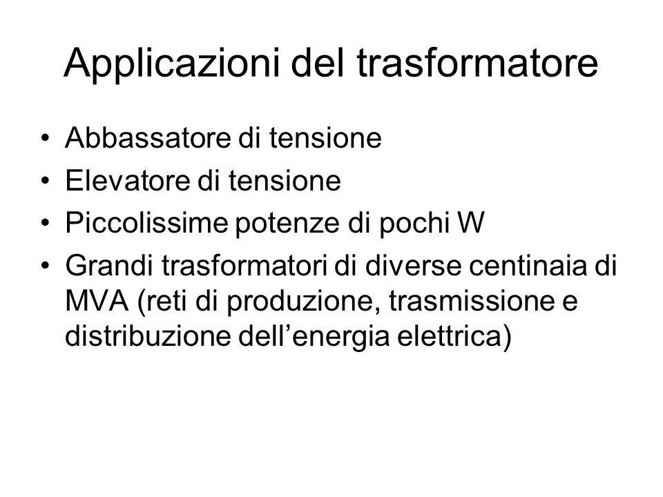 Applicazioni del trasformatore