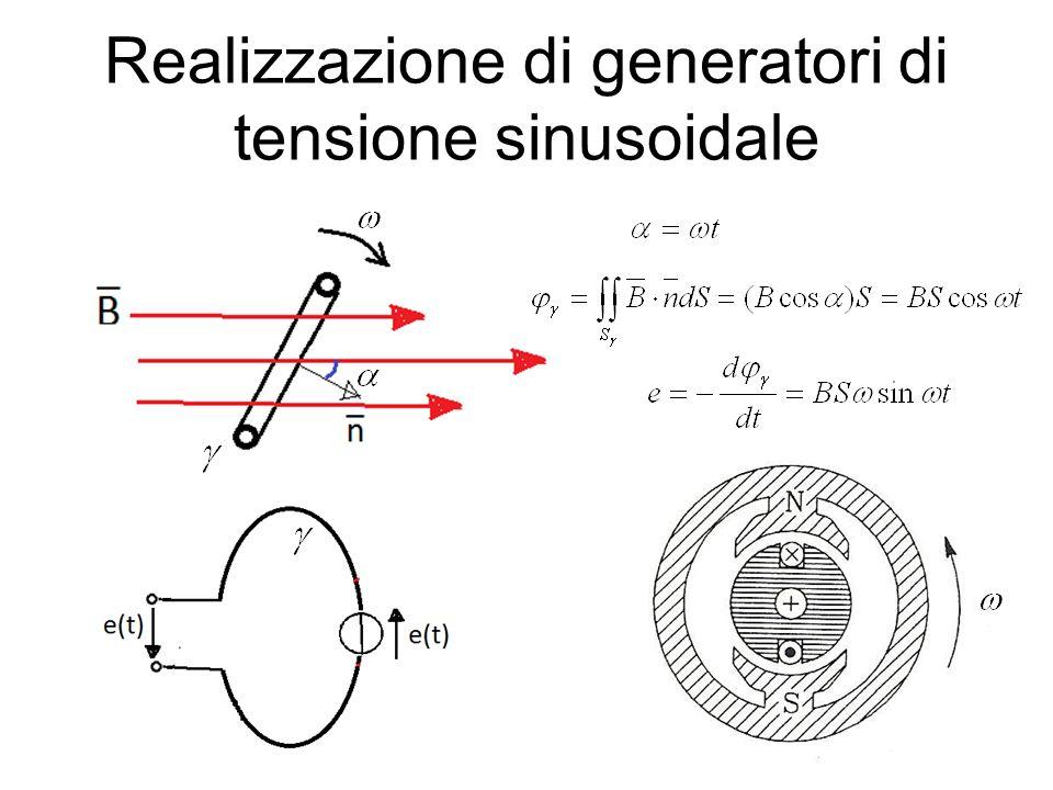 Realizzazione di generatori di tensione sinusoidale