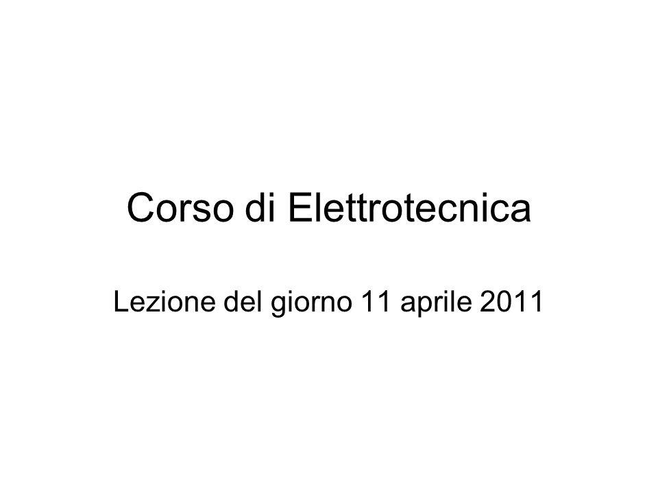 Corso di Elettrotecnica