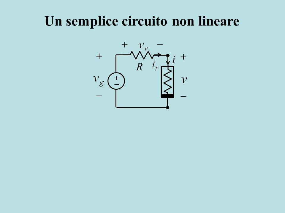 Un semplice circuito non lineare