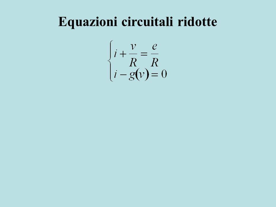 Equazioni circuitali ridotte