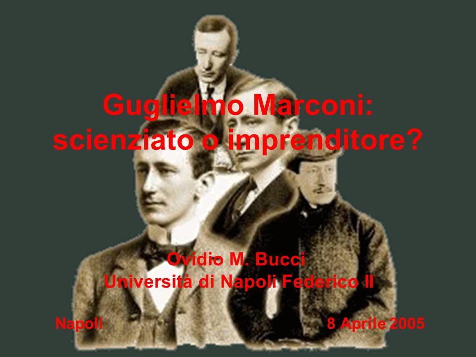 Guglielmo Marconi: scienziato o imprenditore