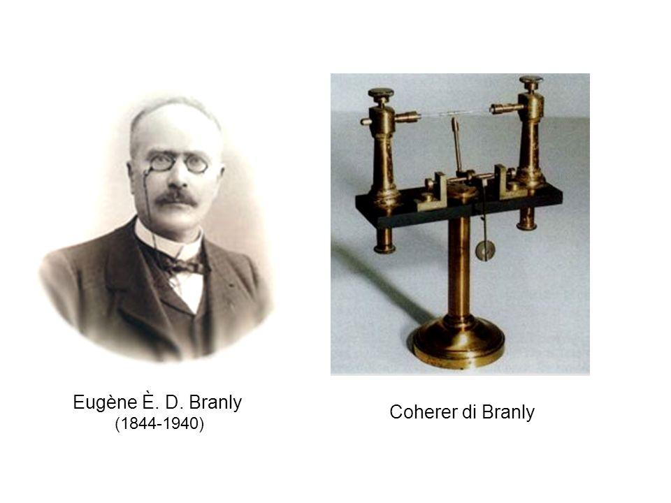 Coherer di Branly Eugène È. D. Branly (1844-1940)