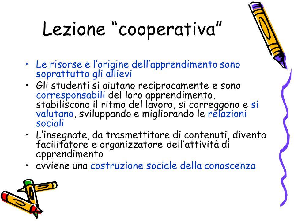 Lezione cooperativa