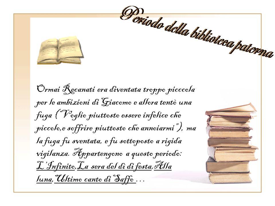 Periodo della biblioteca paterna