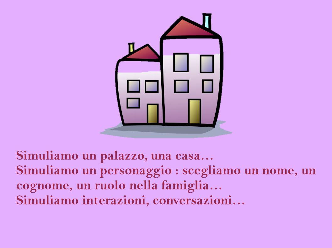 Simuliamo un palazzo, una casa…