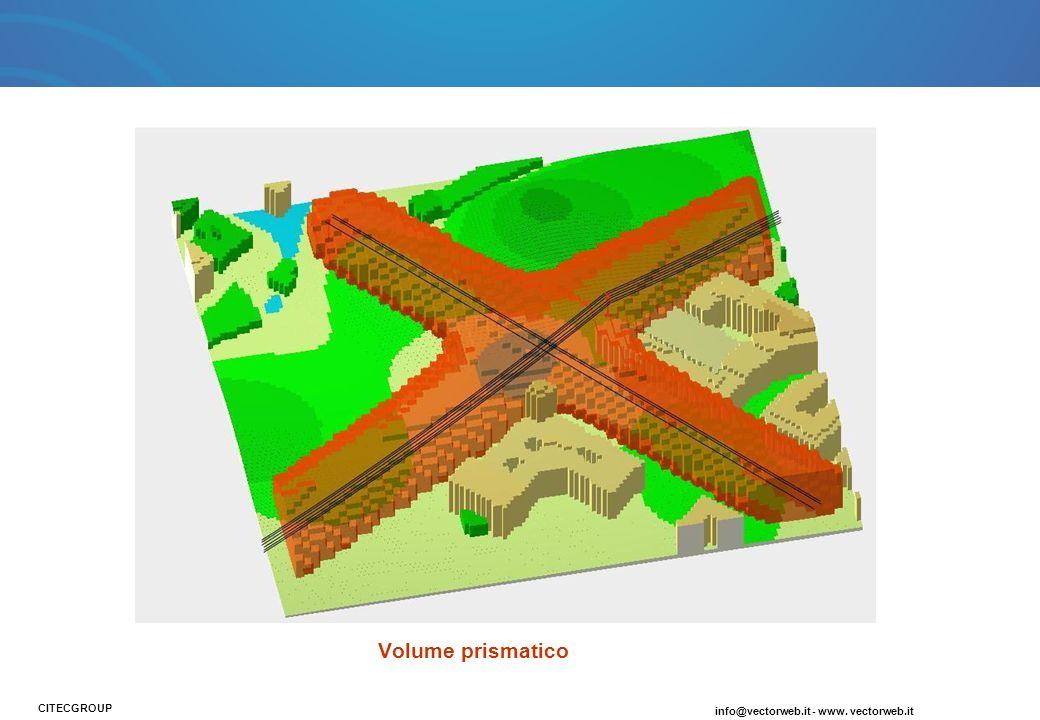 Volume prismatico CITECGROUP info@vectorweb.it - www. vectorweb.it