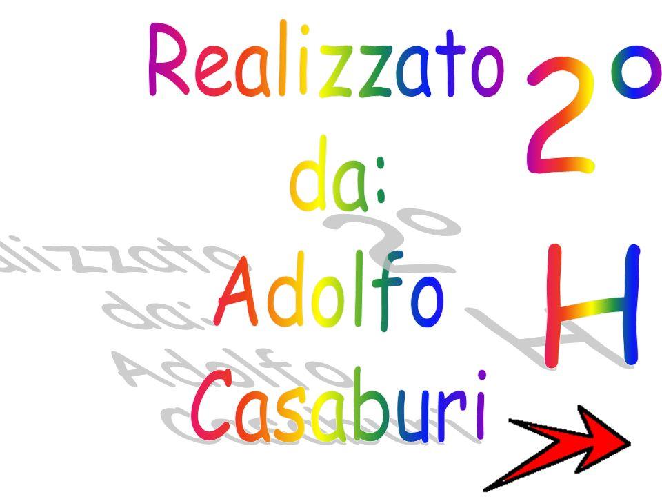 Realizzato da: Adolfo Casaburi 2° H