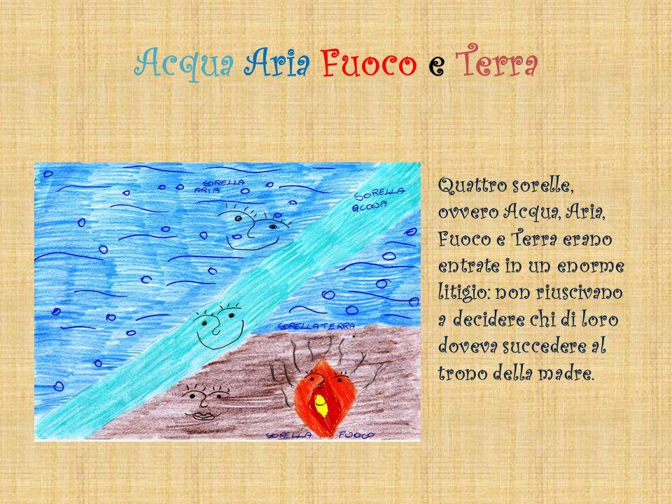 Acqua Aria Fuoco e Terra