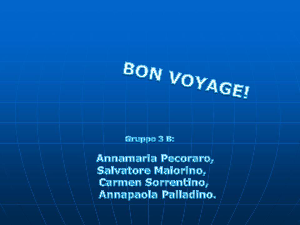 BON VOYAGE! Salvatore Maiorino, Carmen Sorrentino,