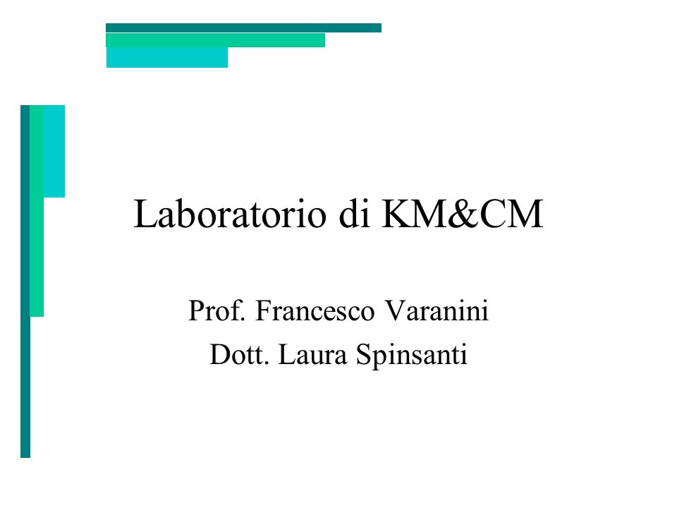 Prof. Francesco Varanini Dott. Laura Spinsanti