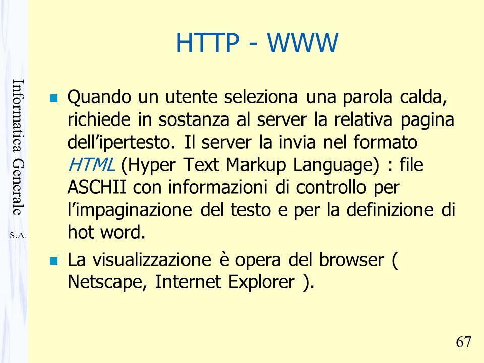 HTTP - WWW