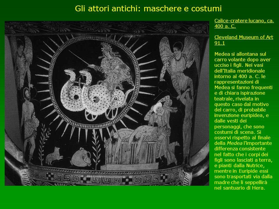Gli attori antichi: maschere e costumi