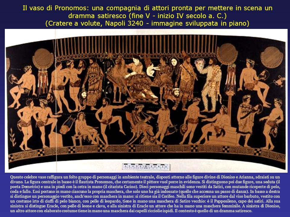 (Cratere a volute, Napoli 3240 - immagine sviluppata in piano)