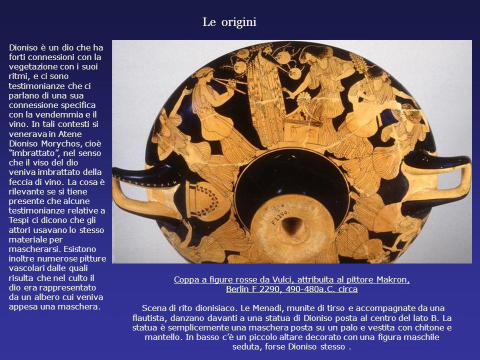 Coppa a figure rosse da Vulci, attribuita al pittore Makron,