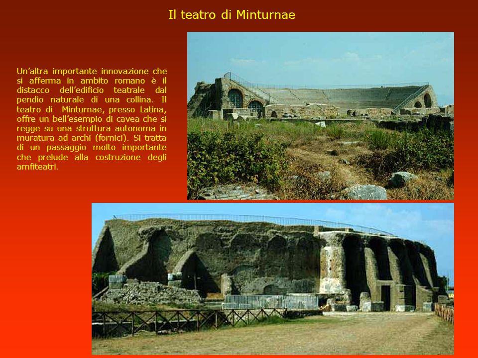 Il teatro di Minturnae