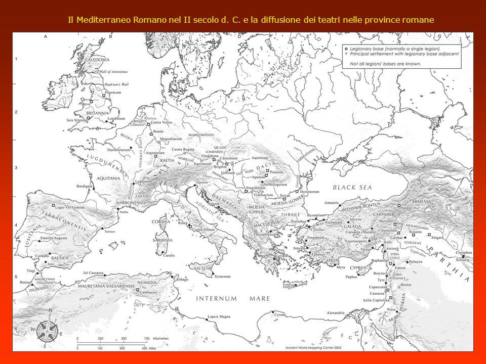 Il Mediterraneo Romano nel II secolo d. C
