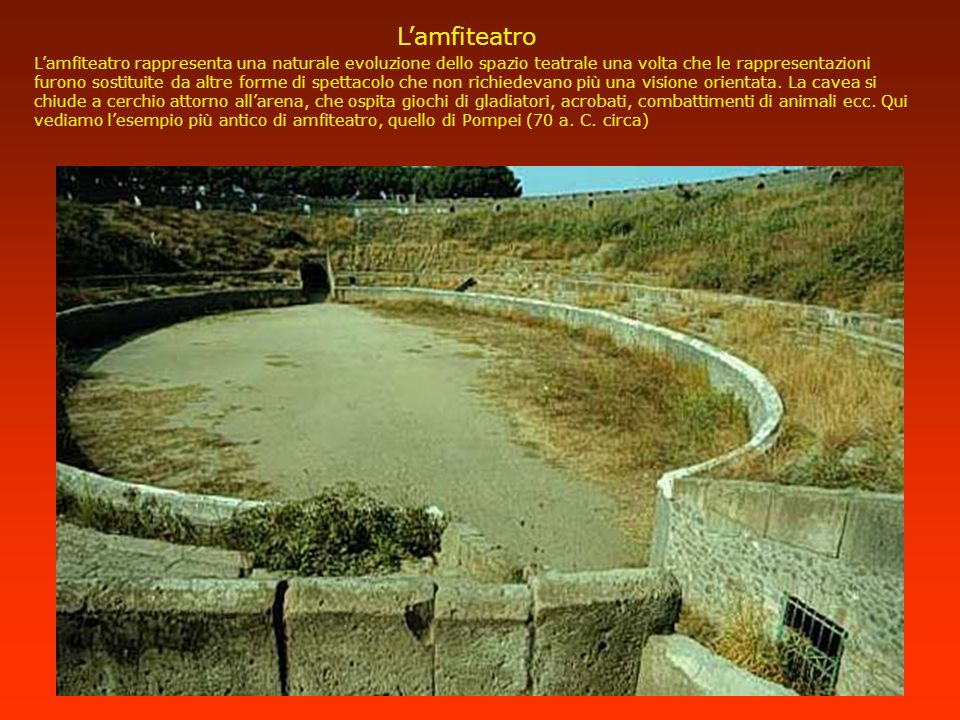 L'amfiteatro