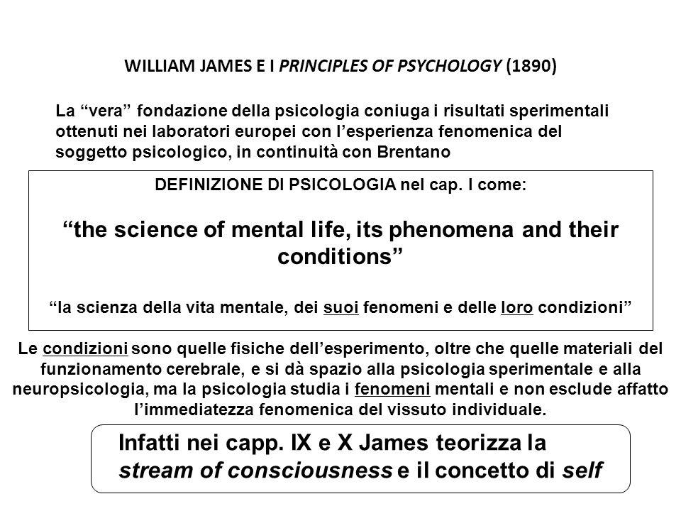 WILLIAM JAMES E I PRINCIPLES OF PSYCHOLOGY (1890)
