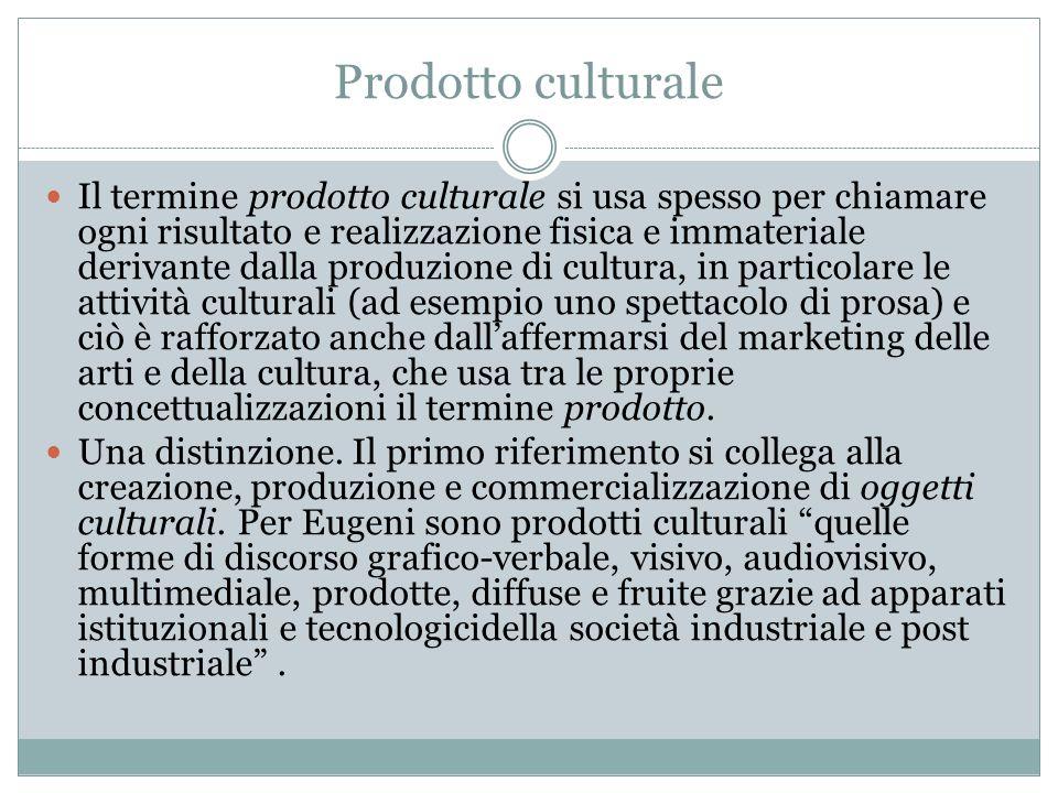 Prodotto culturale